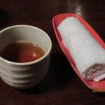 卯サギの一歩 - お茶