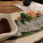 旬魚旬菜 びんびや - ¥780のてっさは、イマイチ君だったなぁ。