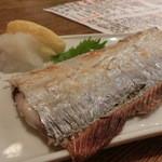 旬魚旬菜 びんびや - 太刀魚塩焼きは美味しかったよ~。