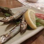 旬魚旬菜 びんびや - ししゃも。。。なんだよね?