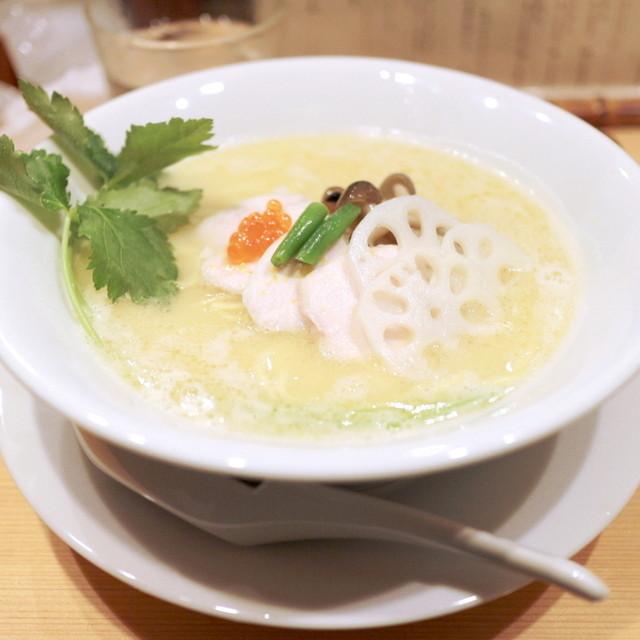 銀座 篝 - 鶏白湯SOBA 並 (880円) '14 11月中旬