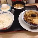 松屋 - 牛すき焼き御膳