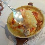 33352657 - シーフードマカロニグラタン            ¥1,500                       オマールエビの出汁のホワイトソース