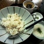 坂下家 - 麦飯