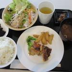 """レストランSora - Aランチの""""鶏のマヨ味噌焼き"""" 600円"""