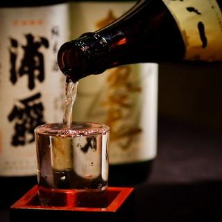 こだわりの日本酒ラインナップ♪