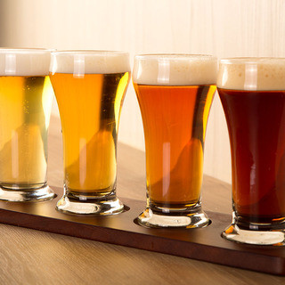 国産クラフトビールが30種類以上!