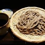 市川一茶庵 - 田舎せいろ 630円 (2014/1) (^^b