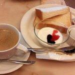 カフェ横濱珈琲物語 - トーストモーニングセット