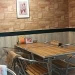カフェ ビーガン - テーブル席