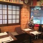洋食や シェ・ノブ - テーブル6席