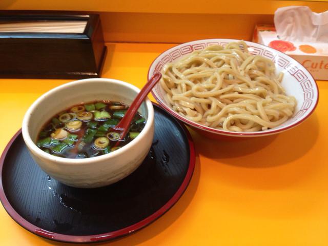 中華そば 麺屋7.5Hz+ 梅田店 - つけそば 大盛@2014/12/10