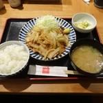 33361442 - 生姜焼き定食