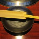 黒毛和牛焼肉ぜん - テーブルセット