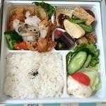 b・two - きのこおろしチキンカツ弁当 ¥790