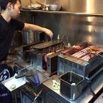 Yakitori Lounge HIBIKI  - キッチン