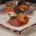 四季亭 - 季節の前菜