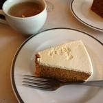45 - デザートのケーキ