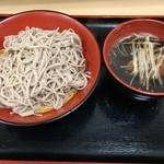 名代 富士そば - 鴨せいろ(450円)