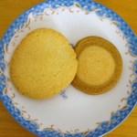 ステラおばさんのクッキー - クッキーはあまり甘すぎることがなく美味しかった。