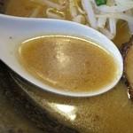 福家 - 赤コク味噌のスープ