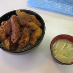 33365710 - 大盛ソースカツ丼 \800 (バラカツ)