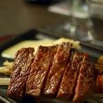 鉄板焼 二平 - 和牛ステーキ~ゆず胡椒ソース~