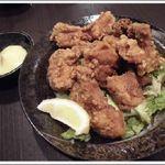 こま源 - 鶏ももから揚げ ¥580(税込)