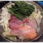こま源 - 白 海鮮鍋 ¥1,382×2 ¥2,754(税込)