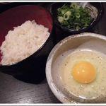 こま源 - 雑炊セット ¥518(税込)