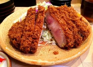 とんかつ檍 蒲田店 - 上ロースカツ定食