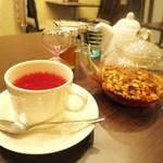 アールエフ カフェ - フルーツティー カフェインレス マンゴーオレンジ
