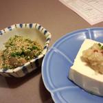 33368025 - りゅうきゅうとネギ味噌豆腐