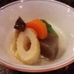 千寿司 - セットの小鉢