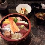 千寿司 - ランチちらし\1,050