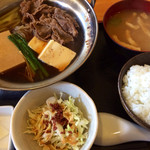金太郎 - すき焼き定食・500円
