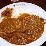 CoCo壱番屋 - 料理写真:豚しゃぶカレー、5辛、ライス200g。