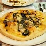 カトリカ - 2014.12 牡蠣のピザ