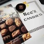 シーズキャンディーズ - カリフォルニアのチョコレート専門店。日本には銀座と表参道にしかないそう。