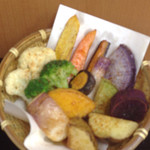 33371356 - かん太カレーの鎌倉野菜(素揚げ)