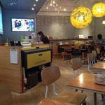 ファブカフェ トーキョー - 黄色のマシンがレーザーカッター