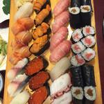 矢乃寿し - 寿司盛り