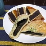 おひげのぱんやさん - 2014.1209 あんぱん大と焼きカレーパン