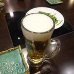 四季海岸 - 生ビール480円+税