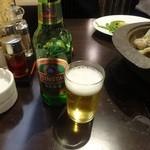 四季海岸 - 青島ビール450円+税