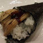 沼津魚がし鮨 - 穴キュウ手巻き