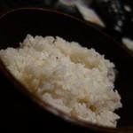 瑞石庵 - 麦ご飯