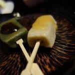 瑞石庵 - 自然薯の田楽