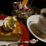 瑞石庵 - 自然薯を使ったベイクドチーズケーキ