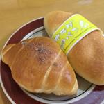33374506 - 塩パン & サラダパン!